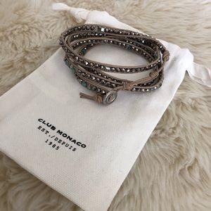 Club Monaco wrap bracelet